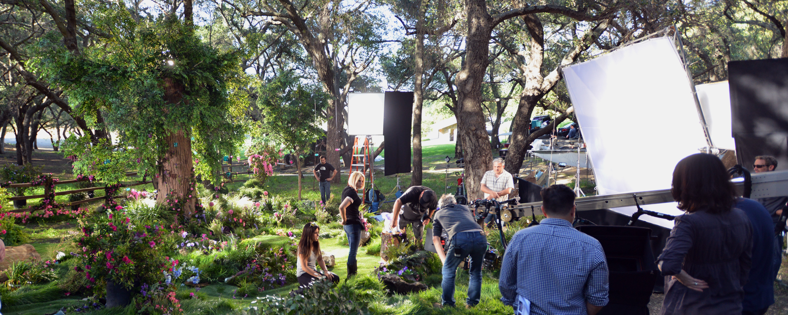 Toy Commercial, location shoot, calabasas, set lighting, geronimo creek, gaffer