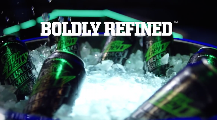Release Video for Mountain Dew Black Label